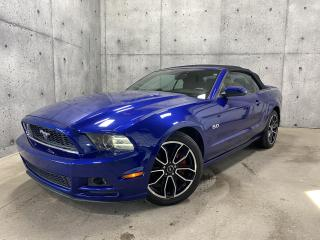 Used 2013 Ford Mustang GT V8 5.0L CONVERTIBLE CUIR SIÈGES CHAUFFANT for sale in St-Nicolas, QC