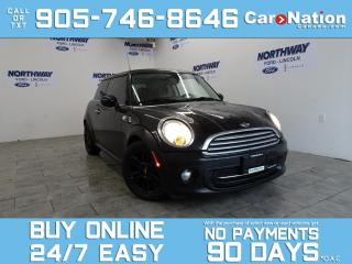 Used 2013 MINI Cooper Hardtop BAKER STREET EDITION | SUNROOF | 6 SPEED MANUAL for sale in Brantford, ON