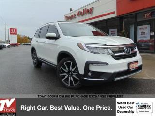 Used 2020 Honda Pilot Touring 7-Passenger (1) Owner, Navigation & Entertainment System for sale in Peterborough, ON