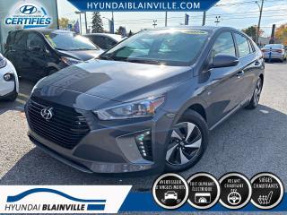 Used 2019 Hyundai Ioniq Hybrid PREFERRED TOIT OUVRANT, APPLE CARPLAY, V for sale in Blainville, QC