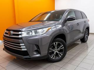 Used 2019 Toyota Highlander LE AWD CAMÉRA RECUL 8 PLACES *ALERTES CHANG. VOIE* for sale in St-Jérôme, QC