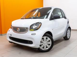Used 2016 Smart fortwo PURE SIÈGES CHAUFFANTS CUIR NAVIGATION *BAS KM* for sale in St-Jérôme, QC