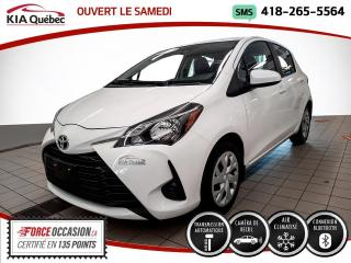 Used 2019 Toyota Yaris LE* AT* 5 PORTES* CAMERA* SIEGES CHAUFFA for sale in Québec, QC