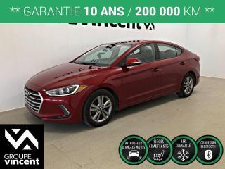 Used 2018 Hyundai Elantra GL ** GARANTIE 10 ANS ** Véhicule fiable et économique! for sale in Shawinigan, QC