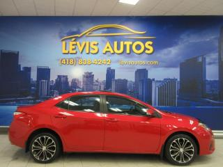 Used 2014 Toyota Corolla S MANUEL TOIT OUVRANT CUIR 61300 KM TOUT for sale in Lévis, QC