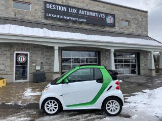 Used 2014 Smart fortwo Passion cabriolet 2 portes for sale in St-Eustache, QC
