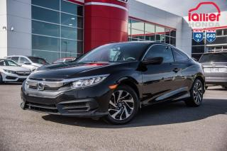 Used 2016 Honda Civic GARANTIE LALLIER MOTO-PROPULSEUR 10ANS/200,000 KIL LE PLUS GRAND CHOIX DE CIVIC USAGEES AU QUEBEC for sale in Terrebonne, QC