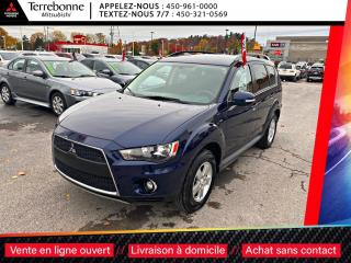 Used 2011 Mitsubishi Outlander LS V6 4X4**7 PASSAGERS**CRUISE**BANCS CHAUFFANTS** for sale in Terrebonne, QC