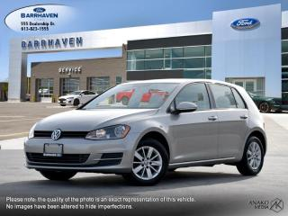 Used 2016 Volkswagen Golf TRENDLINE for sale in Ottawa, ON