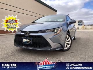 Used 2020 Toyota Corolla LE *Heated Seats *Lane Departure Warning for sale in Winnipeg, MB