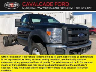 Used 2015 Ford F-550 Super Duty DRW XL for sale in Bracebridge, ON