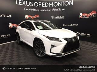 Used 2019 Lexus RX 350 F Sport SERIES 2 for sale in Edmonton, AB