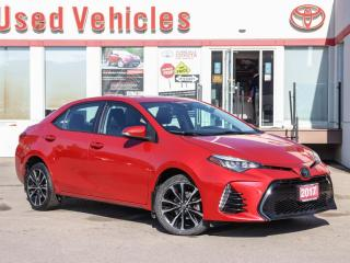 Used 2017 Toyota Corolla SE SUNROOF |ALLOYS | HEAT SEATS/STEERING | CAMERA for sale in North York, ON