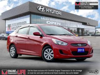 Used 2015 Hyundai Accent GL  - Bluetooth -  Heated Seats - $92 B/W for sale in Nepean, ON