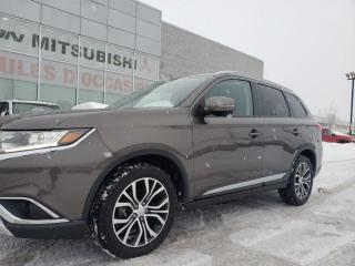 Used 2016 Mitsubishi Outlander AWC ES PREMIUM/TOIT/CUIR/BLUETOOTH/MAGS 18 POUCES for sale in St-Hubert, QC