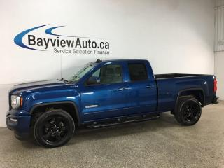 Used 2019 GMC Sierra 1500 Limited - ELEVATION! DOUBLE CAB! V8! 4X4! 20