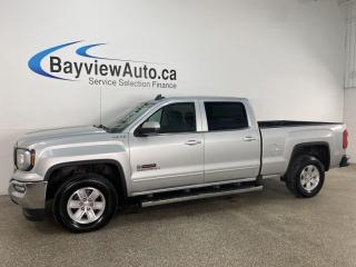 Used 2018 GMC Sierra 1500 SLE - 4X4! V8! REVERSE CAM! ALLOYS! + MORE! for sale in Belleville, ON