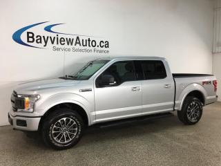 Used 2018 Ford F-150 XLT - FX4! PWR BUCKETS! CONSOLE! SUPER CREW! for sale in Belleville, ON