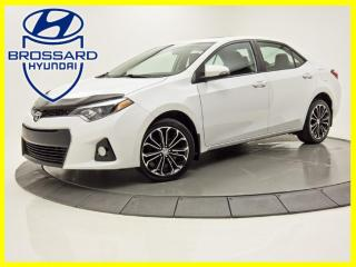 Used 2016 Toyota Corolla Automatique S Cuir Toit Ouvrant Mags for sale in Brossard, QC