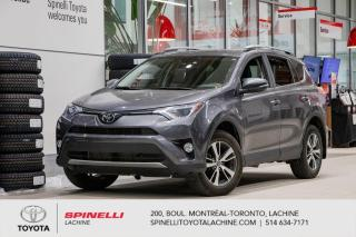 Used 2018 Toyota RAV4 XLE DEMMAREUR INCLUS for sale in Lachine, QC