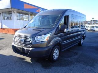 Used 2016 Ford Transit Wagon Mid Roof, Navigation, EcoBoost, 15 Passenger Van for sale in Vancouver, BC