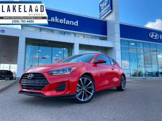 Used 2020 Hyundai Veloster Preferred  - $141 B/W for sale in Prince Albert, SK