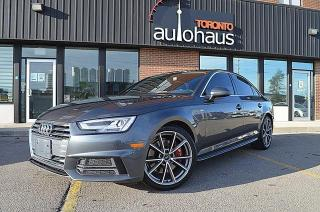 Used 2018 Audi A4 S-LINE/PREMIUM PLUS/NAVI/CAM LEATHER/SUNROOF for sale in Concord, ON