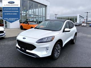Used 2020 Ford Escape Titanium Hybride Fwd for sale in Victoriaville, QC