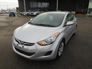 Used 2012 Hyundai Elantra 4dr Sdn Auto GL,A/C,CRUISE,BLUETOOTH for sale in Mirabel, QC