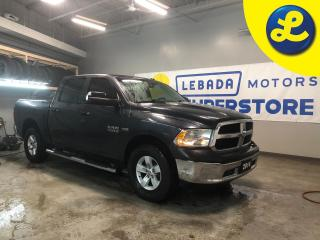 Used 2014 Dodge Ram 1500 4WD Crew Cab HEMI * Chrome side steps * Hard Tonneau Cover * Sprayed Bedliner * Chrome front and rear bumpers * Keyless entry with locking rail gate * for sale in Cambridge, ON