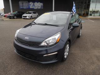 Used 2016 Kia Rio 4dr Sdn Man LX,A/C,CRUISE,BLUETOOTH for sale in Mirabel, QC