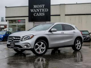 Used 2018 Mercedes-Benz GLA 250 GLA250 4MATIC|BLIND|NAV|PADDLE SHIFTERS|DUAL SUNROOF|ALLOYS|XENON for sale in Kitchener, ON