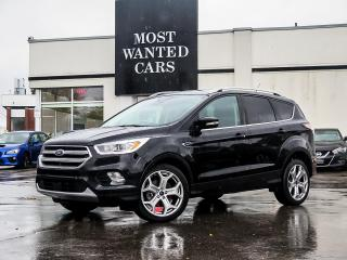 Used 2017 Ford Escape TITANIUM|4WD|BLIND|LDW|ACC|PANO|19
