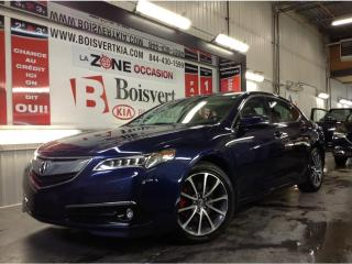 Used 2015 Acura TLX ELITE CUIR TOIT GPS CAMÉRA SEUL 53000 for sale in Blainville, QC