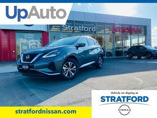 New 2020 Nissan Murano SV AWD for sale in Stratford, ON