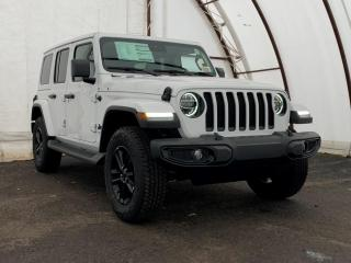 New 2021 Jeep Wrangler Unlimited Sahara SAHARA ALTITUDE 4X4 | COLD WEATHER, UCONNECT 4C NAVIGATION & SOUND & ADVANCED SAFETY GROUP for sale in Ottawa, ON