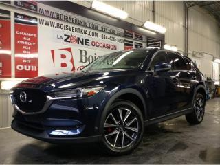 Used 2017 Mazda CX-5 CX-5 GT AWD CUIR TOIT NAVI/GPS CAMÉRA BIJOU !!! for sale in Blainville, QC