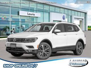 New 2020 Volkswagen Tiguan 2.0T Highline 4Motion AWD 7-Passenger for sale in PORT HOPE, ON