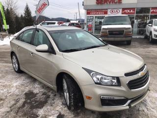 Used 2015 Chevrolet Cruze Berline 4 portes 2LT RS for sale in Val-David, QC