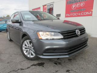Used 2017 Volkswagen Jetta 1.4 TSI WOLFSBURG AUTO MAGS TOIT CAMÉRA BLUETOOTH for sale in St-Jérôme, QC