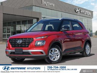 New 2021 Hyundai Venue FWD Preferred (Two-Tone) for sale in Barrie, ON