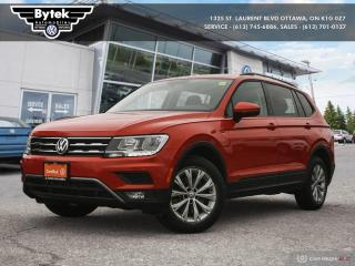 Used 2018 Volkswagen Tiguan Trendline 2.0 8sp at w/Tip 4M for sale in Ottawa, ON