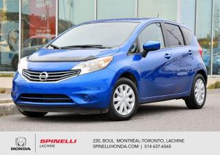 Used 2015 Nissan Versa Note SV AUTO BAS KM BLUETOOTH CAMERA*BLUETOOTH*PORT USB ET AUXILAIRE*GROUPE ELECTRIQUE* for sale in Lachine, QC