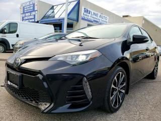 Used 2017 Toyota Corolla SE SUNROOF|LEATHER|CAMERA|CERTIFIED for sale in Concord, ON
