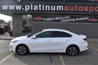 Used 2019 Kia Forte EX HEATED SEATS AND STEERING WHEEL!! LANE KEEP ASSIST!! BLIND SPOT DETECTION!! BACKUP CAMERA!! for sale in Saskatoon, SK