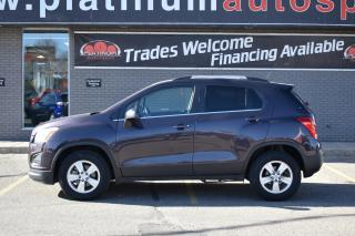 Used 2016 Chevrolet Trax LT REMOTE START!! BLUETOOTH!! BACK UP CAMERA!! NEW TIRES!! for sale in Saskatoon, SK