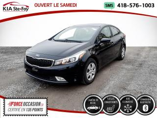 Used 2017 Kia Forte * LX+* BLUETOOTH* CAMERA* SIEGES CHAUFFA for sale in Québec, QC