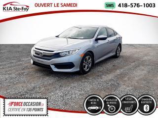 Used 2017 Honda Civic * LX* CAMERA DE RECUL* BLUETOOTH* JAMAIS for sale in Québec, QC