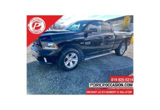 Used 2013 RAM 1500 Sport Quad Cab for sale in Val-D'or, QC