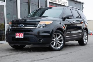 Used 2015 Ford Explorer LIMITED for sale in Chatham, ON